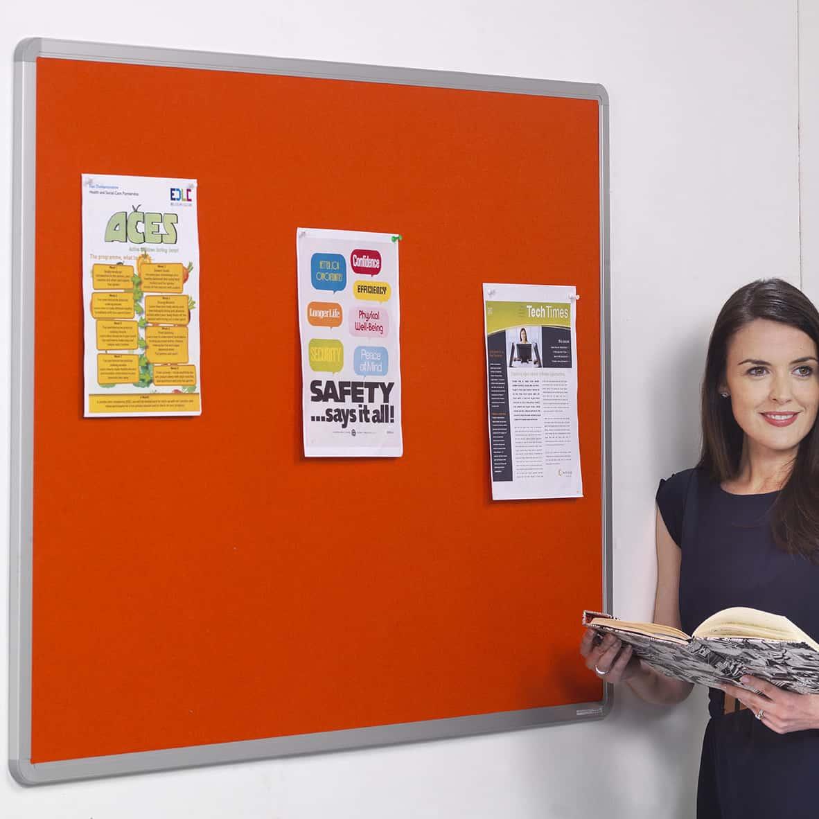 Aluminium Frame Notice Boards