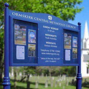 Church & Parish Notice Boards