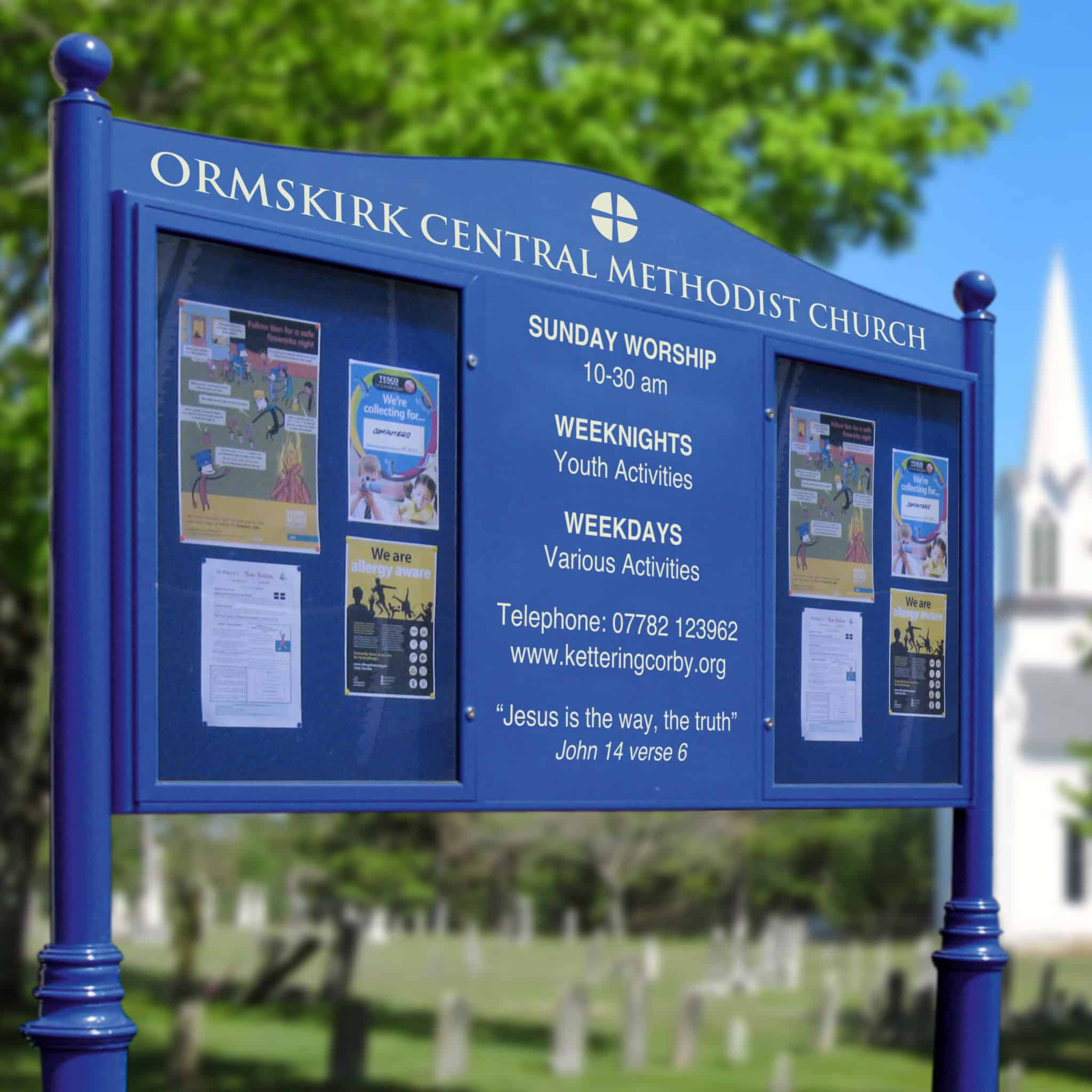 Church & Parish Notice Boards
